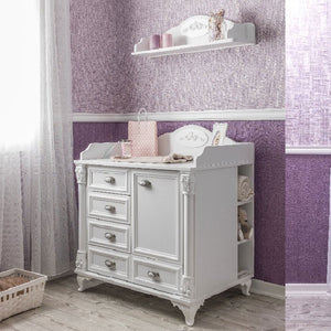 ANGEL Baby Chest with Wall Hanging Shelf HL-2542 + HL-2563