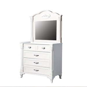ANGEL 5-Drawer Kids Drawer Chest with Mirror HL-2541 + HL-2551