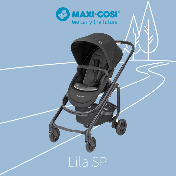 Maxi Cosi (10/22) Lila SP - Essential Black (6m-48m) (0-22kg)