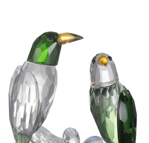 Decorative Accessories - Parrot Elegance Accent, Green (AB-76678)