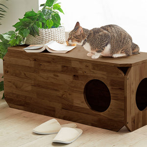 CAT/DOG/PET Play Storage Bench (WIL-0134)