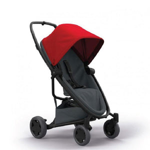 Quinny Zapp Flex Plus Stroller - Red on Graphite QN1398993000