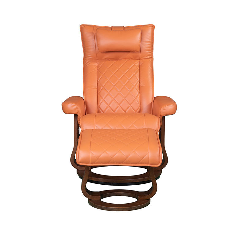 Cool Rilaxa 649 Full Top Grain Leather Recliner Armchair Ottoman Ncnpc Chair Design For Home Ncnpcorg