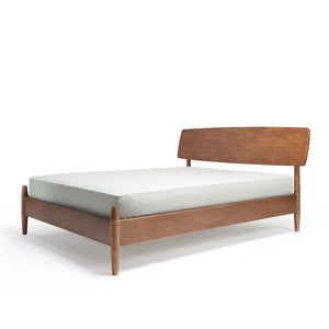 DOWEL King Bed in American White Oak (MCS-SD15219B-OAK)