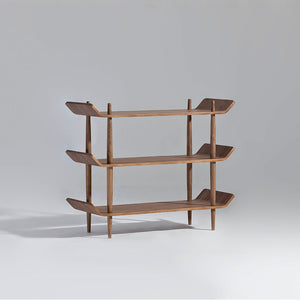 BENTWOOD 0.9m Shelf in American Walnut by Sean DIX (MCS-SD9133AH)