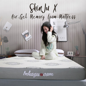 SHINJU X Air-Gel Memory Foam Anti-Microbial Mattress **IN-STOCK**