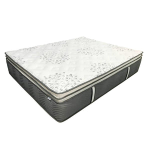 真珠 Shin Ju IV Pocketed Spring Latex Mattress with Double-Pillow Top in Super Cool Lycocell® 4 Fabric (MAT-2P29PL-R) - Inkagu - Shop Furniture Online