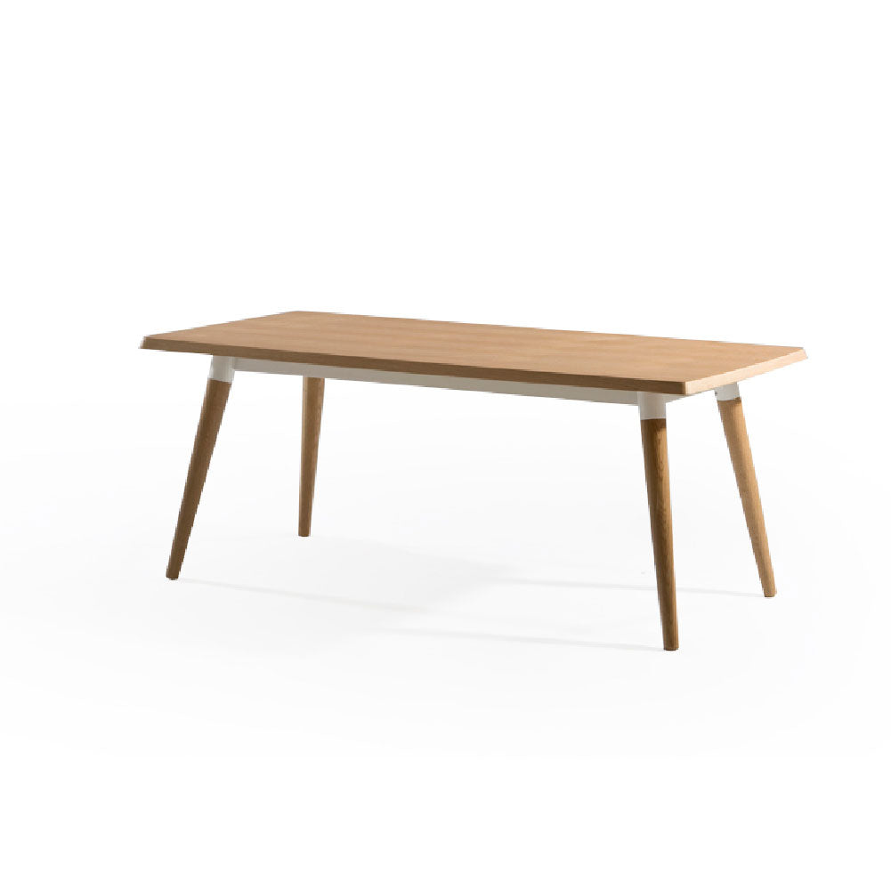 COPINE 1.4m Dining Table in American Oak (MCS-SD9191C-OAK-1400)