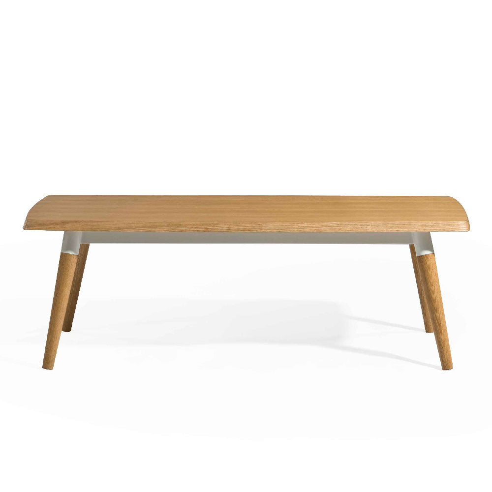 COPINE 1.8m Dining Table in American White Oak (MCS-SD9191A-OAK/WHT-1800)