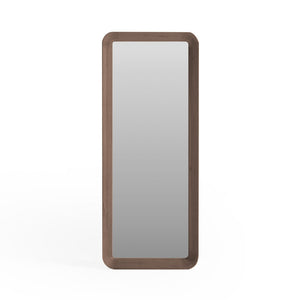 VELODROME 1.9m Tall Wall Mirror in American Walnut (MCS-SD9163A-WAL)