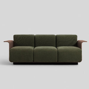 PLY 3-Seater Sofa in American Walnut (MCS-SD17203C-WAL-R1003)