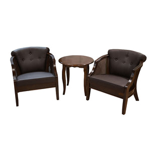 Winston PU Leather 3-piece Lounge Set - Picket&Rail Singapore's Premium Furniture Retailer
