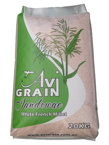 Avi White French Millet 20kg