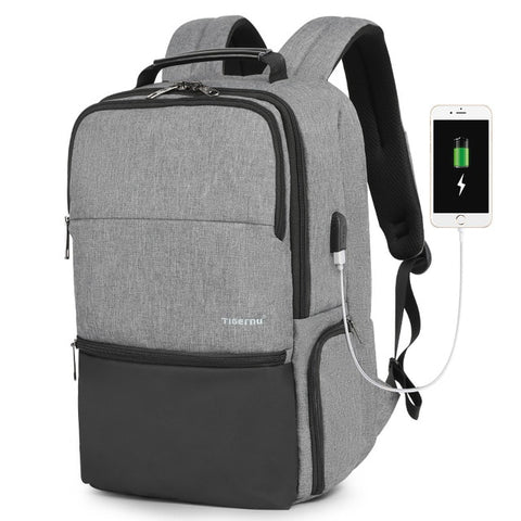 Anti Theft Laptop Backpacks with RFID & USB Charging - iLogik Shop