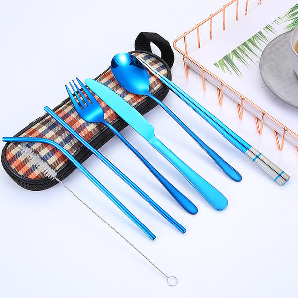 Portable Stainless Steel Cutlery Set - iLogik Shop