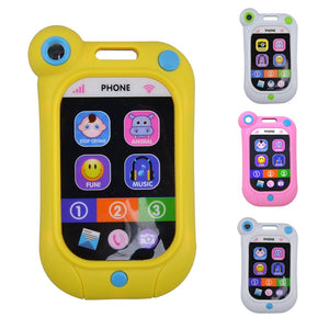 Baby Kids Learning Study Musical Sound Cell Phone Children Educational Toys Musical Instrument Toy Phone Random Color