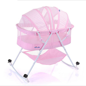 Portable Hanging Baby Crib Netting Newborn Baby Folding Bed Bassinet Convertible Baby Crib Bedding Sets Nursery Furniture Cot