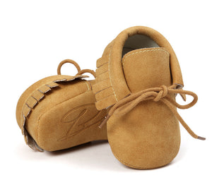 Small seven baby shoes leather soft baby shoes soft socks spring new