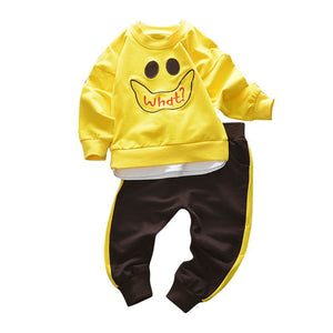 Autumn Baby Boys Clothes Baby Boys Clothing Sets Fashion Cartoon Style Long Sleeve + Pants 2PCS Suits