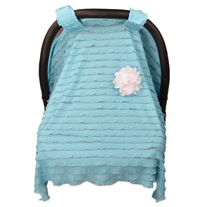 Useful Baby Car Seat Cover Canopy Cover Cotton Car Ceat Bow Blanket Baby Activity Series Anti Wind Rain Keep Warm