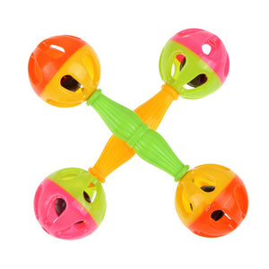 Baby Kid Toy Rattle Bells Shaking Dumbells Early Development Toys Early Childhood Educational Toys