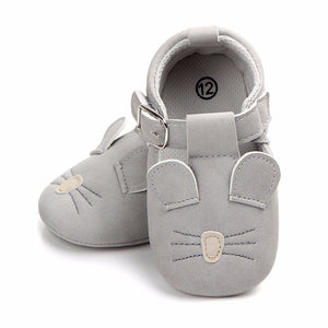 Newborn Scrub Baby Shoes Spring Cartoon Cute 10 Color Baby Girl Shoes First Walkers Fashion Casual Baby Shoes