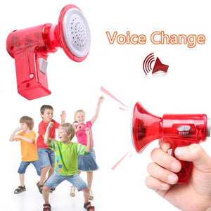 Novelty Toy Portable Voice Changer Children Mini Funny Gadget Loudspeaker Intercom Electronic Toys Kids Educational Gifts