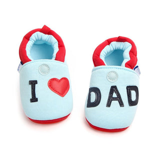 Baby Shoes Classic Canvas Letter Baby Girl Shoes Cotton First Walker Heart-shaped Family Love Spring Baby Girl Shoes