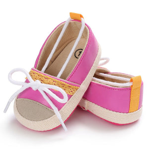 Baby Infant Kids Girl Soft Sole Crib Toddler Newborn Shoes