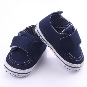 Baby Shoes Newborn Baby Girl Shoes Classic Cotton Stitching Baby Boy Shoes First Walkers Fashion Casual