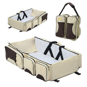 Travel baby bag Portable Bassinet large capacity Diaper Bag Multifunction  Changing Station Travel Crib Diaper Bag travel bed