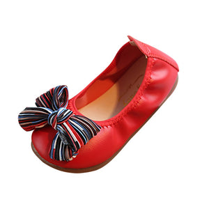 Baby Girls Dancing Shoes Bow-Knot Ornament Shoes Non-Slip Casual Baby Shoes