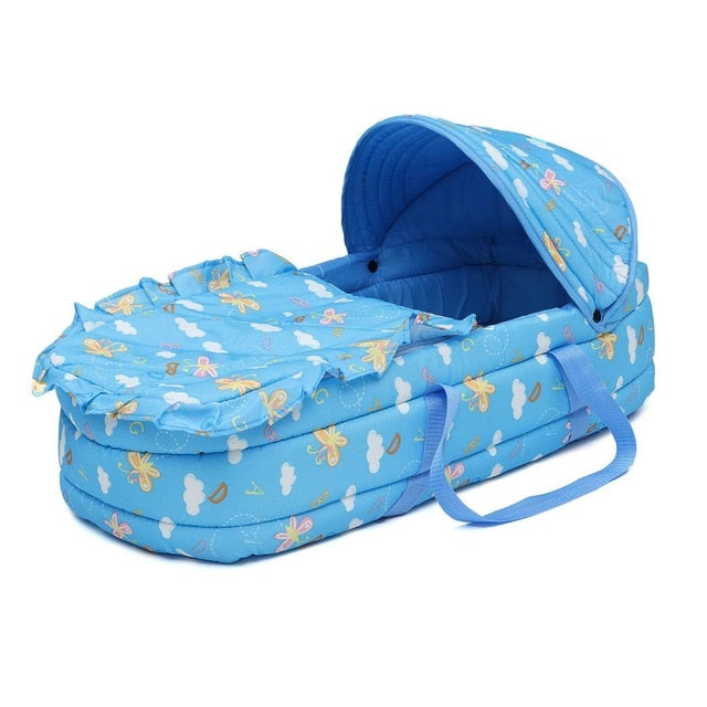 code promo 636be c0bf8 Portable Baby Bed Baby Bassinet Bed for 0-8Month Baby Basket Comfortable  Newborn Travel Bed Cradle Safety Infant Bassinet Crib