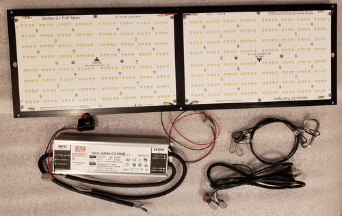Budget LED Full Spec 250 Watt Full Spectrum Grow Light Kit - Samsung LM301B, LG UV, Osram SSL 450nm, Osram SSL 660nm, and Osram 730nm