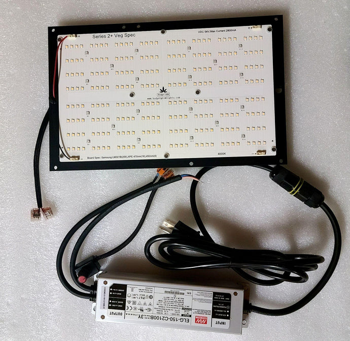 Series 2+ Veg Spec 130 Watt Dimmable Grow Light - Budget LED