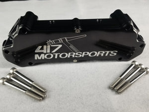 417 Motorsports Anodized Billet LSX Engine Water Manifold