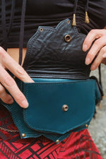 Tiny Tulip Belt - XS Teal Only