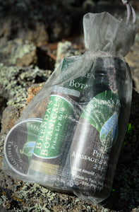 Piñon sample gift bag Brenda's Botanicals