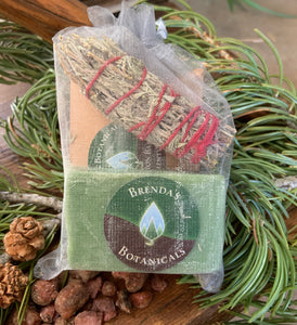 Brenda's Botanicals Piñon and Sage Renewal Kit Taos