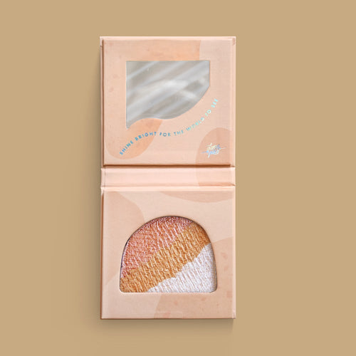 Bright Cheeks Ahead - Get Glowing' Bronzer/Highlighter
