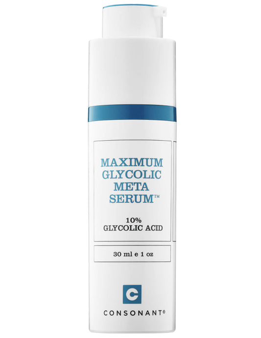 Maximum Glycolic Meta Serum 30ml - Consonant Skincare