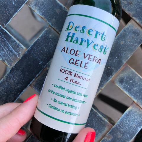 How To Make Your Skin Smoother With Desert Harvest Aloe Vera Gel