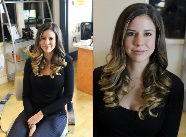 Meet Brittany After Her Beautiful Blow Out At Halo Dry Bar In Los Altos And Now We Have Some Questions For You