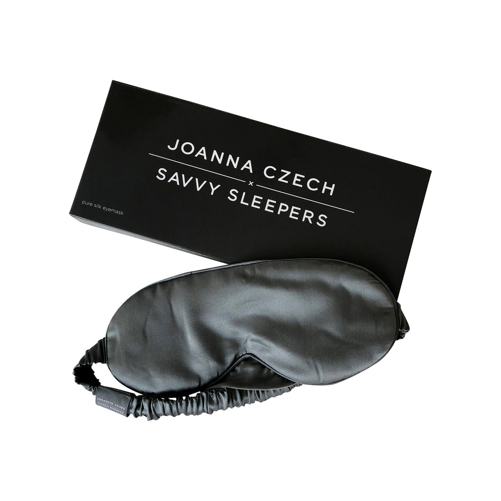 100% Silk Eyemask by Joanna CzechxSavvy Sleepers