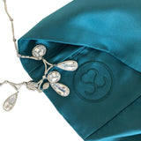 New! 'Royal Teal' 100% Satin Pillowcase. Anti-aging, machine washable, with the bonus secret pocket