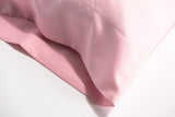'Vintage Rosé' Luxe Satin Pillowcase. Anti-aging, machine washable, with the bonus secret pocket.