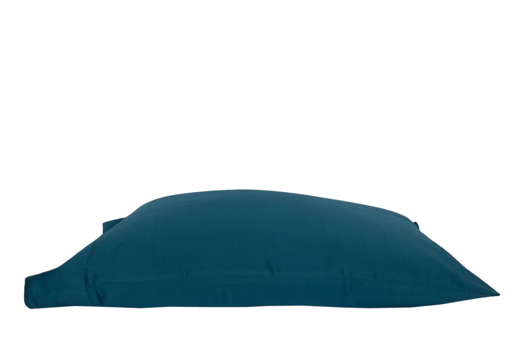 New! 'Royal Teal' Luxe Satin Pillowcase. Anti-aging, machine washable, with the bonus secret pocket