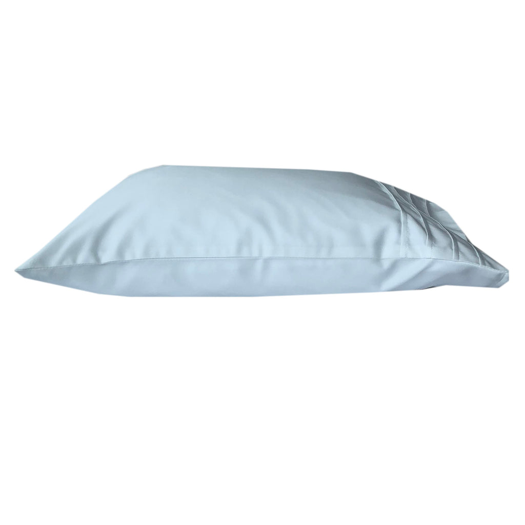 "New! Travel Size 14x20"" 100% Pure Satin Pillowcase + Luxe Travel Pillow"