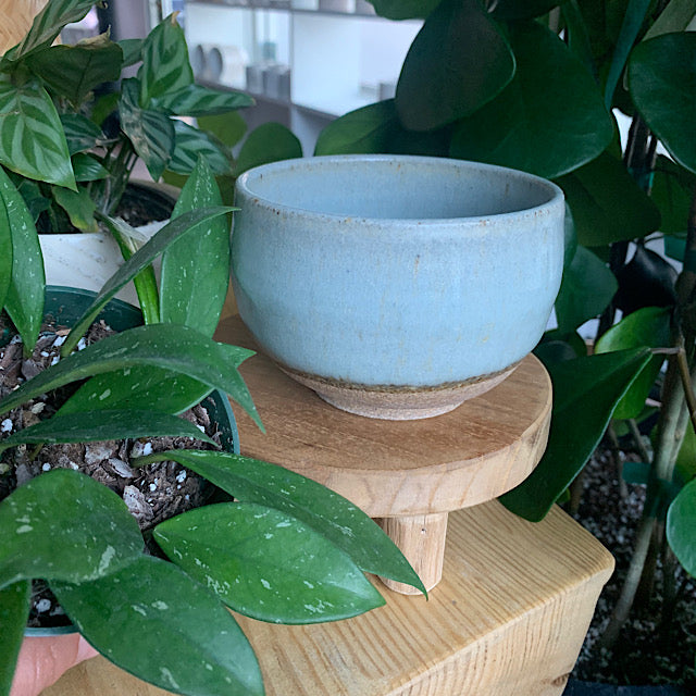 Matcha Bowl made by Pickle Pottery