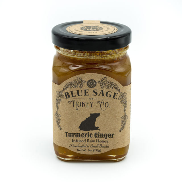 Blue Sage Honey Co. TURMERIC GINGER
